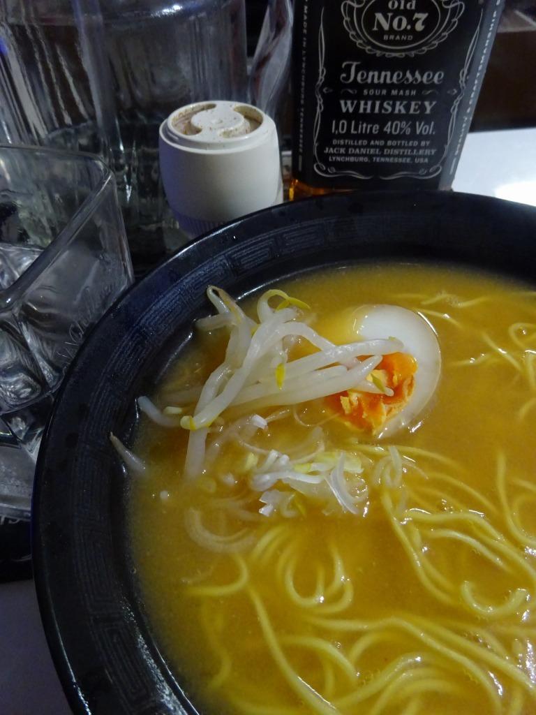 アメリカカブレかもろ日本人か分からぬ食卓 102 藤原製麺 札幌味噌ラーメン_d0061678_10084050.jpg