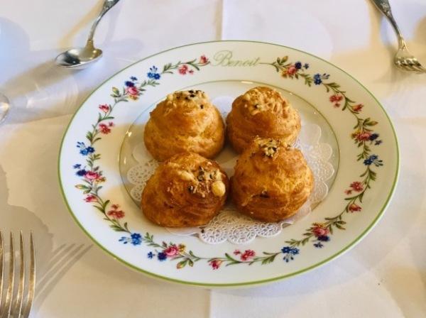 パリ滞在2日目ー老舗Benoitでオーソドックスなフランス料理_d0129786_14550518.jpg