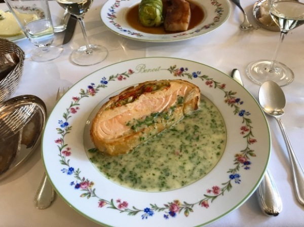 パリ滞在2日目ー老舗Benoitでオーソドックスなフランス料理_d0129786_14551670.jpg