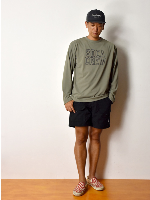 【DELIVERY】 STANDARD CALIFORNIA - Tech Dry Logo Long Sleeve T_a0076701_12270026.jpg