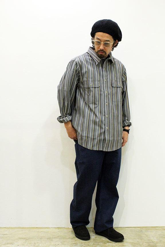 "COMFORTABLE REASON (コンフォータブルリーズン) \"" Yard Man L/S shirts \""_b0122806_12565958.jpg"