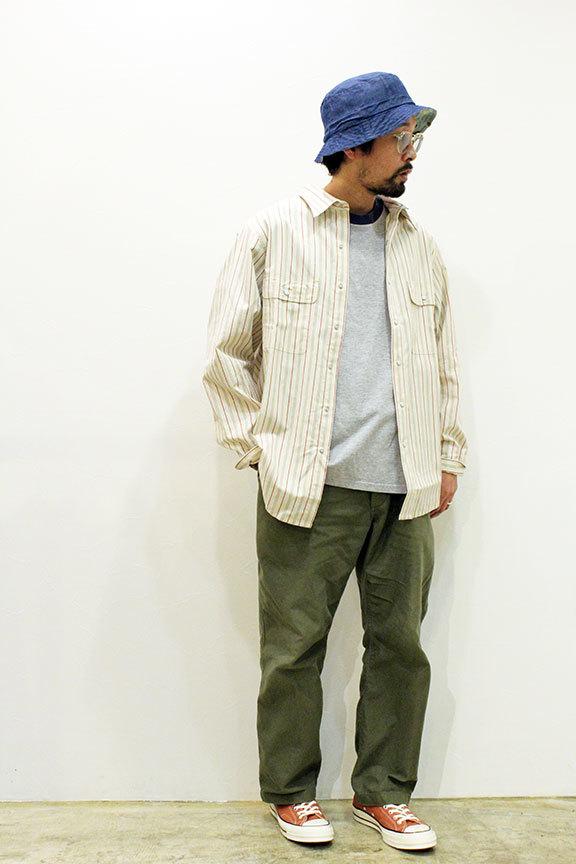 "COMFORTABLE REASON (コンフォータブルリーズン) \"" Yard Man L/S shirts \""_b0122806_12570428.jpg"