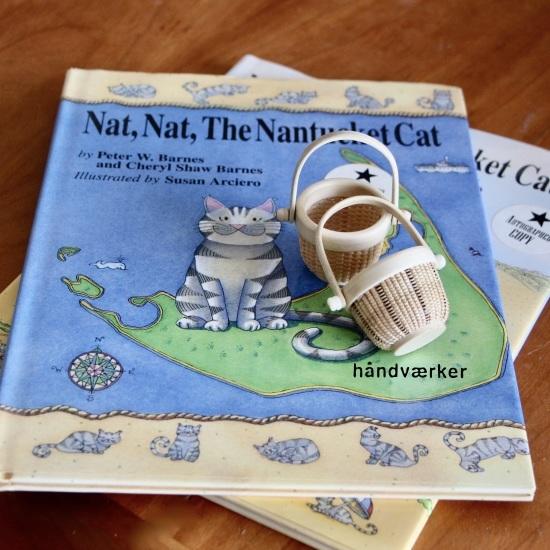 Nantucketの絵本とミニチュアバスケット_f0197215_15240251.jpeg