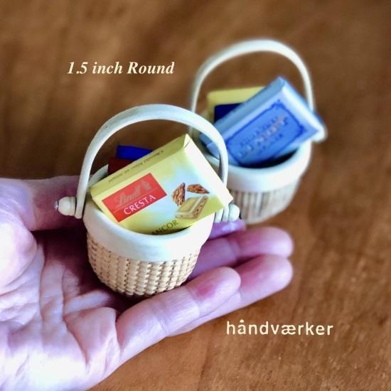ざっくりとちまちま Mini Round Basket_f0197215_15241713.jpeg