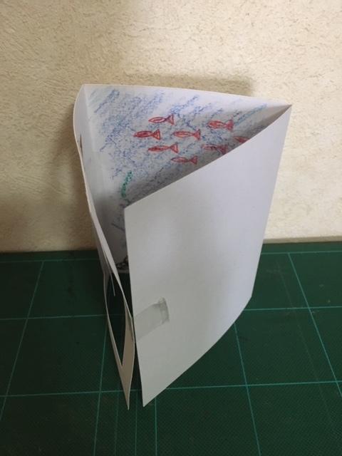 おうちで過ごすこと(簡単工作:3Dアート風カード)_a0269923_18224142.jpg