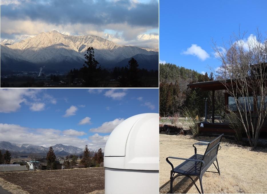 雪化粧の山肌と青い空_a0212730_21205334.jpg