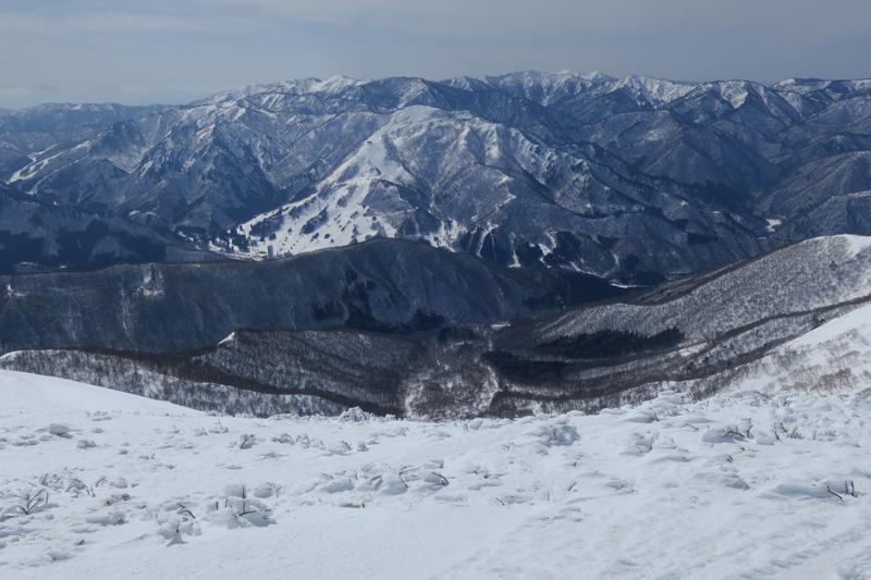 ヤカイ沢からの平標山と仙ノ倉山 (谷川連峰)_f0126932_20121159.jpg