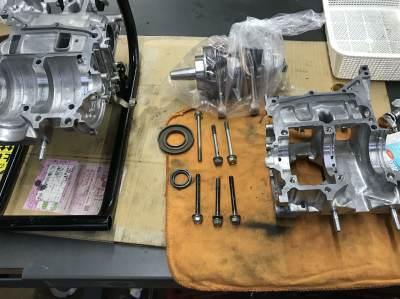 NSR MC21 焼き付き修理 ③_e0114857_11294249.jpg