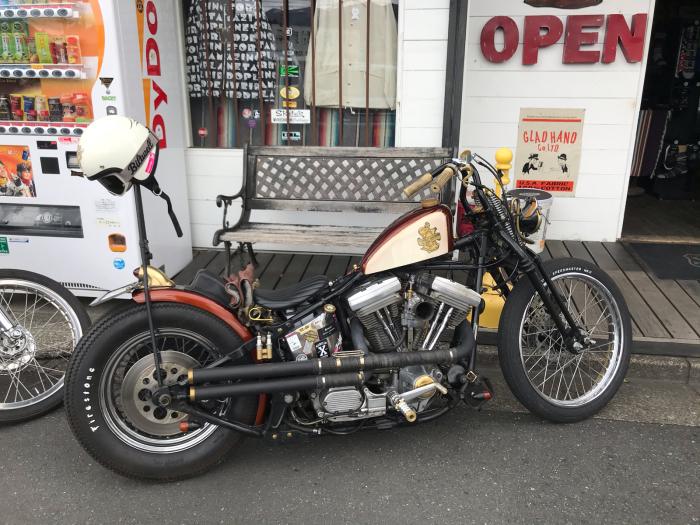本日のバイク!_f0194657_17394689.jpg
