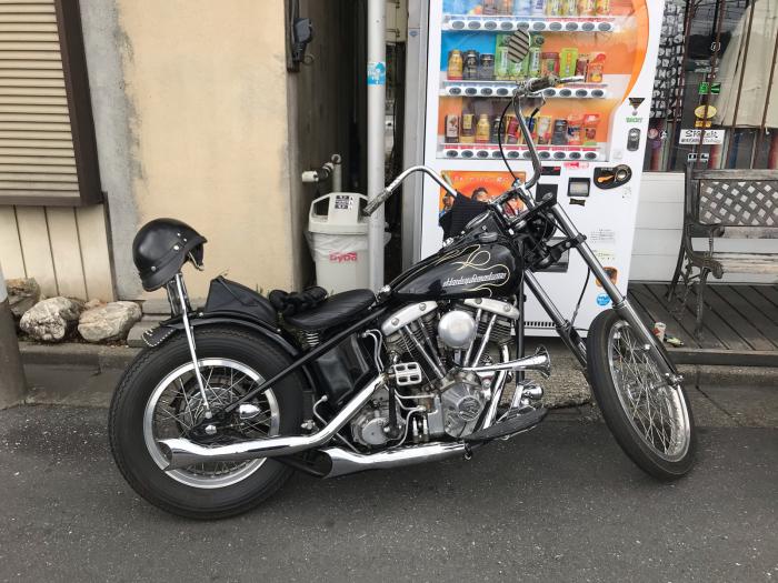 本日のバイク!_f0194657_17394792.jpg