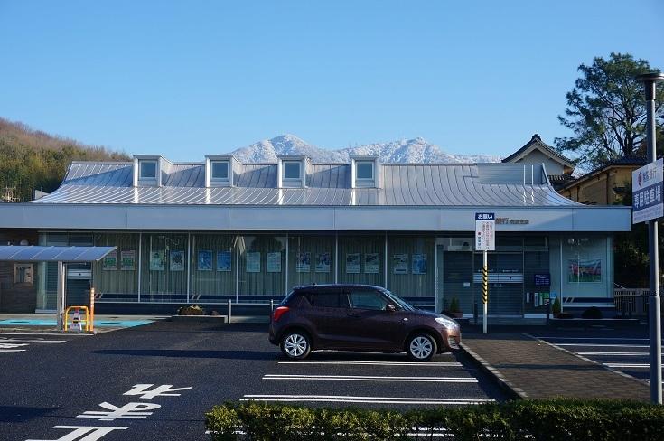 雪の筑波山とあんずの花_b0124462_09224730.jpg