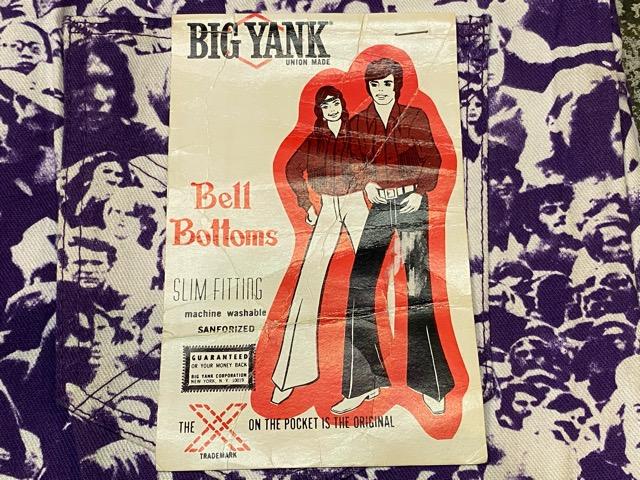"""3月18日(水)マグネッツ大阪店ヴィンテージボトムス入荷!! #4 NOS 1970\'s \""""BIG YANK\"""" Vintage WOODSTOCK Cloud Printed Pants編!!_c0078587_22294579.jpg"""