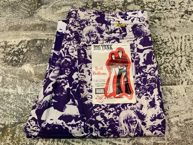 """3月18日(水)マグネッツ大阪店ヴィンテージボトムス入荷!! #4 NOS 1970\'s \""""BIG YANK\"""" Vintage WOODSTOCK Cloud Printed Pants編!!_c0078587_2229743.jpg"""