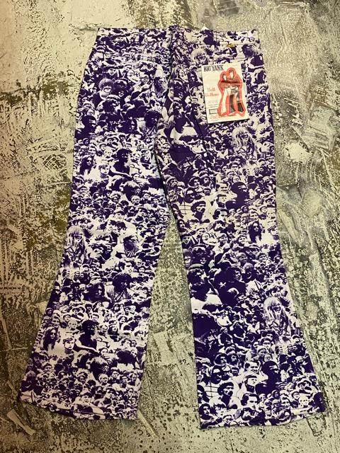 """3月18日(水)マグネッツ大阪店ヴィンテージボトムス入荷!! #4 NOS 1970\'s \""""BIG YANK\"""" Vintage WOODSTOCK Cloud Printed Pants編!!_c0078587_22301516.jpg"""