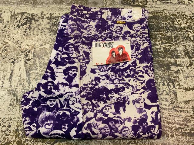 """3月18日(水)マグネッツ大阪店ヴィンテージボトムス入荷!! #4 NOS 1970\'s \""""BIG YANK\"""" Vintage WOODSTOCK Cloud Printed Pants編!!_c0078587_22303559.jpg"""