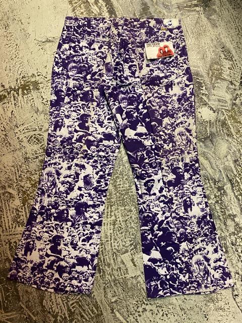 """3月18日(水)マグネッツ大阪店ヴィンテージボトムス入荷!! #4 NOS 1970\'s \""""BIG YANK\"""" Vintage WOODSTOCK Cloud Printed Pants編!!_c0078587_22312497.jpg"""