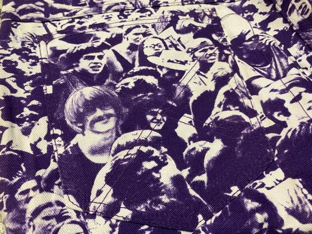 """3月18日(水)マグネッツ大阪店ヴィンテージボトムス入荷!! #4 NOS 1970\'s \""""BIG YANK\"""" Vintage WOODSTOCK Cloud Printed Pants編!!_c0078587_22344626.jpg"""