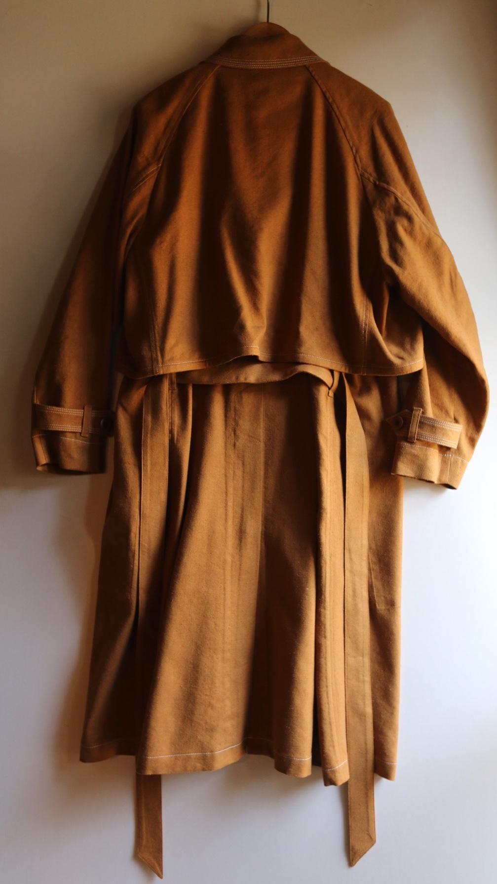 ASEEDONCLOUD 2020SS peasant coat_e0248492_16593114.jpg