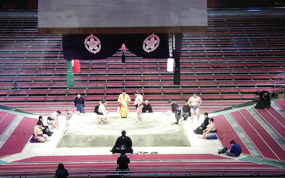 無観客の大相撲春場所_b0114798_17384613.jpg