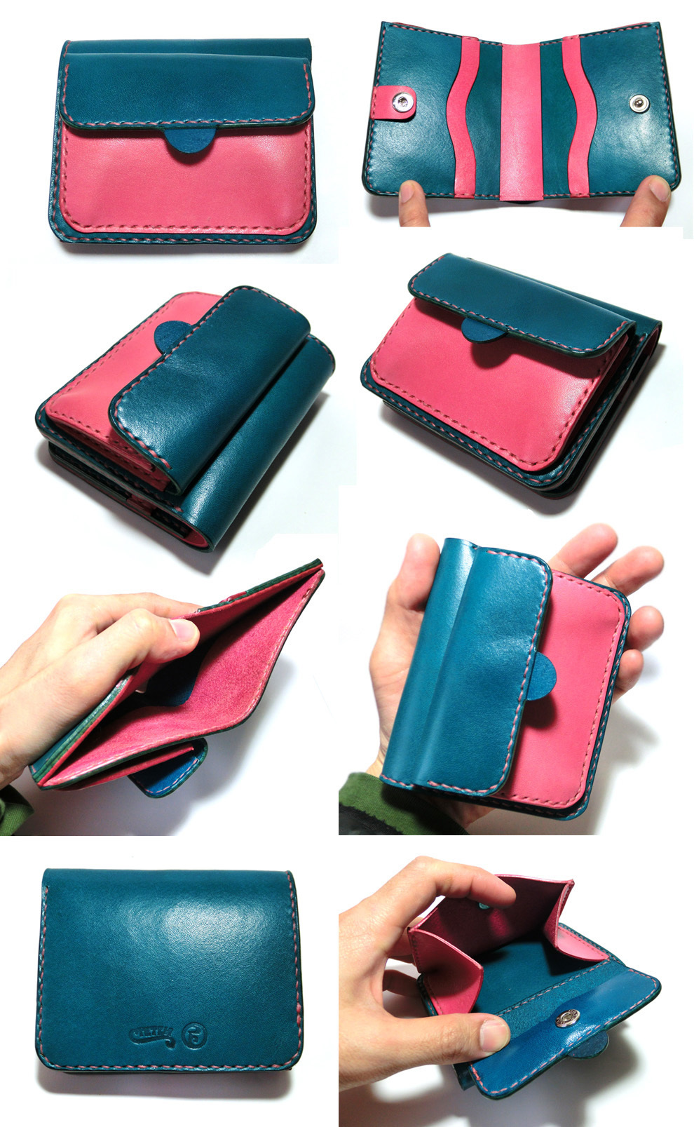 Half Wallet 3  ¥19,000   11cm x 9cm x3cm    _f0130303_18264075.jpg