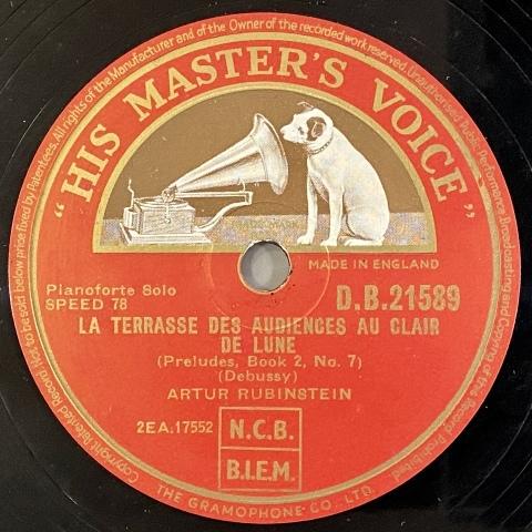 アルトゥール・ルービンシュタインのレコードをアップしました_a0047010_16200969.jpg
