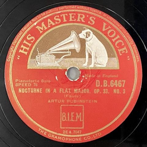 アルトゥール・ルービンシュタインのレコードをアップしました_a0047010_16292093.jpg