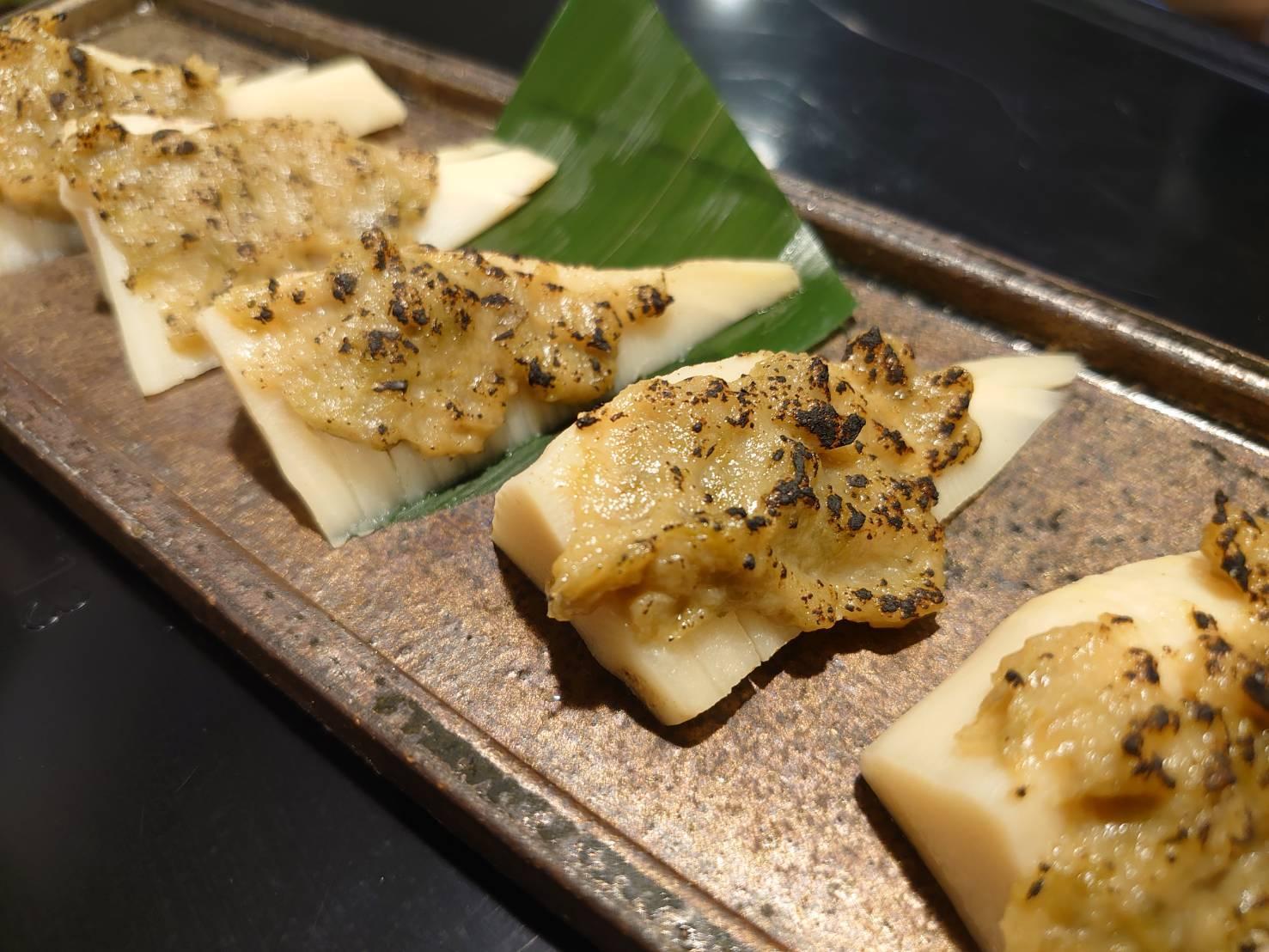 筍のふきのとう味噌焼き_f0157910_12554588.jpg