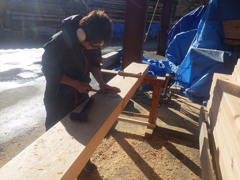 青山の家 建て替え工事 進行中。_f0105112_04114646.jpg