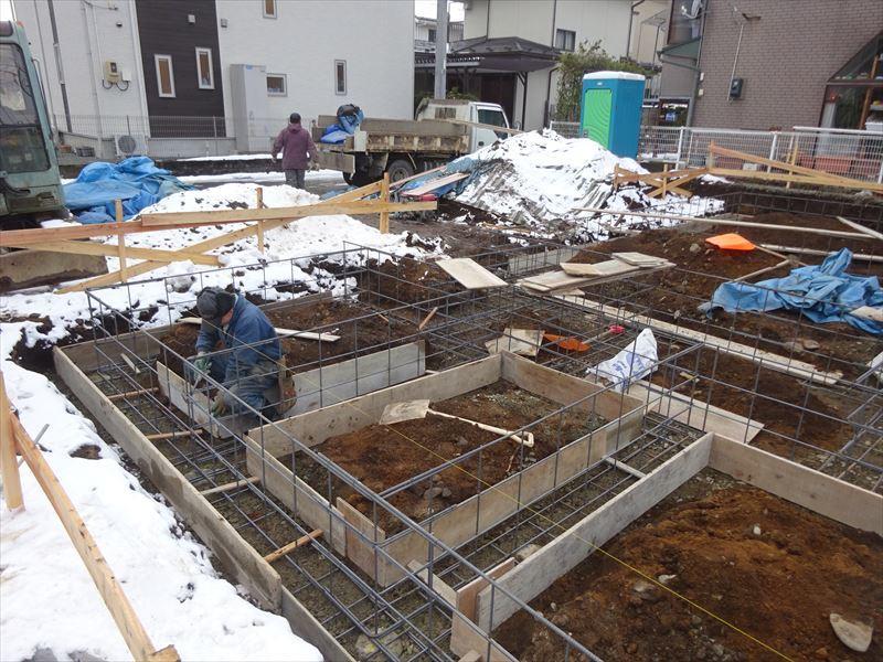 青山の家 建て替え工事 進行中。_f0105112_04171220.jpg
