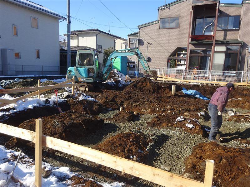 青山の家 建て替え工事 進行中。_f0105112_04171266.jpg