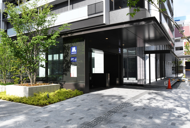 SAORI豊崎長屋への行き方 地下鉄中津駅から編_d0295916_19105438.jpeg