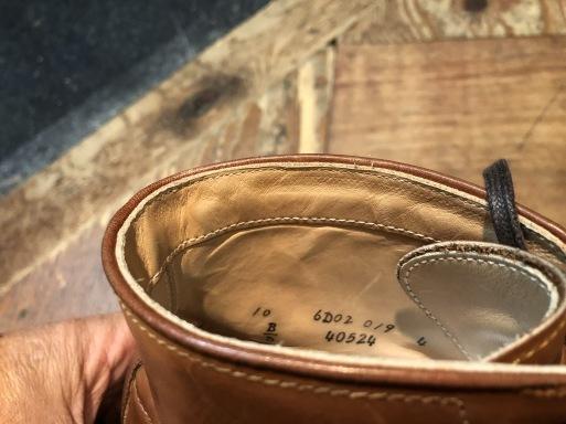 3月16日(月)入荷!USED 美品 箱付き ALDEN INDY BOOTS オールデン インディーブーツ! _c0144020_13482646.jpg