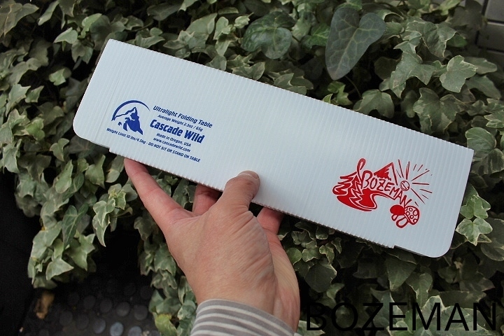 BOZEMAN Cascade Wild Ultralight Folding Table_f0159943_07500354.jpg