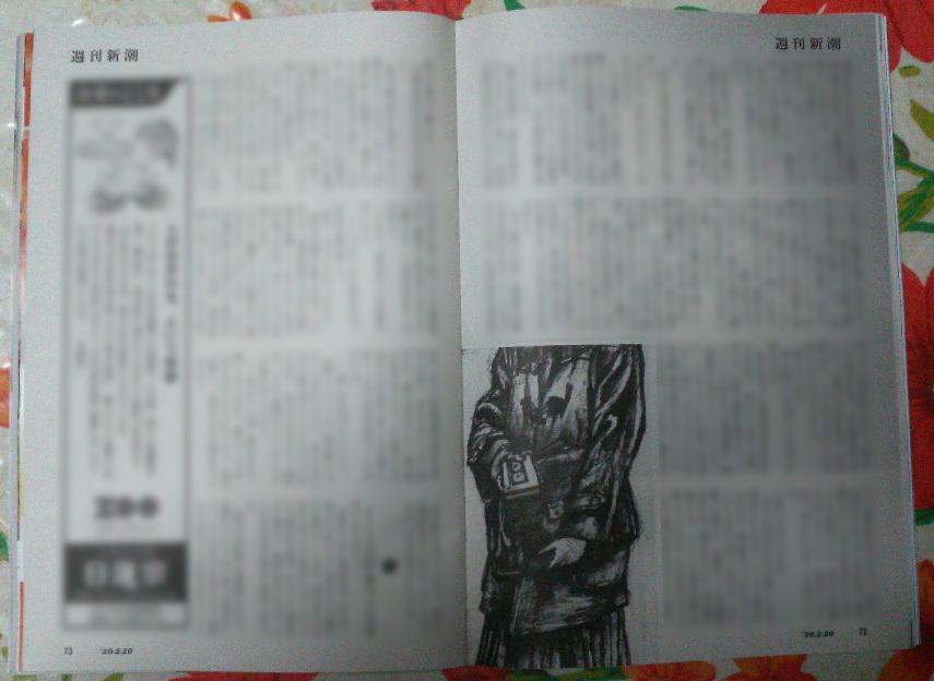 週刊新潮「雷神」挿絵 第1回〜10回_b0136144_16425782.jpg