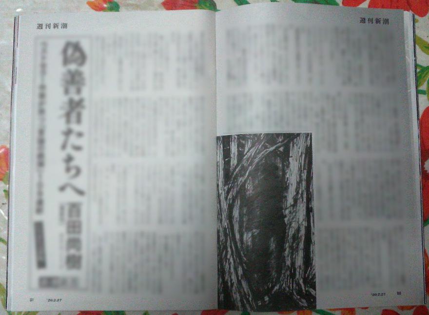 週刊新潮「雷神」挿絵 第1回〜10回_b0136144_16431789.jpg