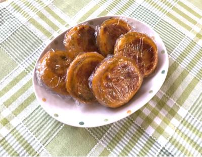 かぼちゃ餅。。。_b0234545_10541334.jpg