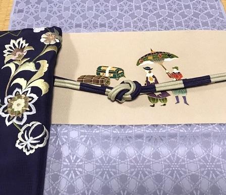 商品紹介・岡重南蛮染帯+豪華な刺繍の帯揚や小物。_f0181251_18175274.jpg