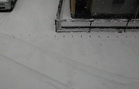 雪景色と桜_b0296353_19481311.jpg