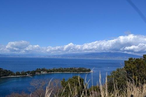 きっとこの辺に富士山が ・・・ ~ 東海道興津宿から駿河湾へ ~_b0102572_15515245.jpg