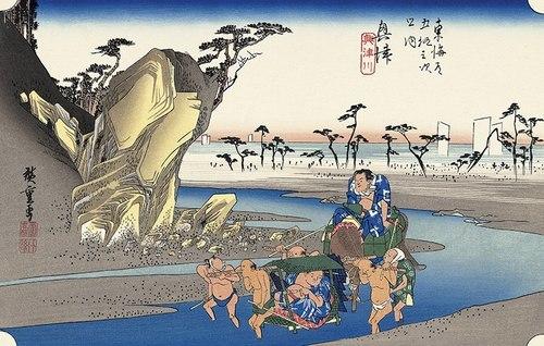 きっとこの辺に富士山が ・・・ ~ 東海道興津宿から駿河湾へ ~_b0102572_16144598.jpg