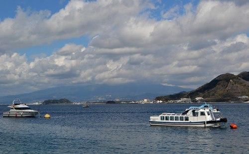 きっとこの辺に富士山が ・・・ ~ 東海道興津宿から駿河湾へ ~_b0102572_16283487.jpg