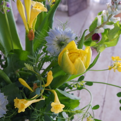 オークリーフ花の教室(須藤さんの作品)_f0049672_17372849.jpg