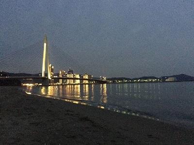 いつもの海岸で ゴミ拾い散歩_e0123286_19073955.jpg