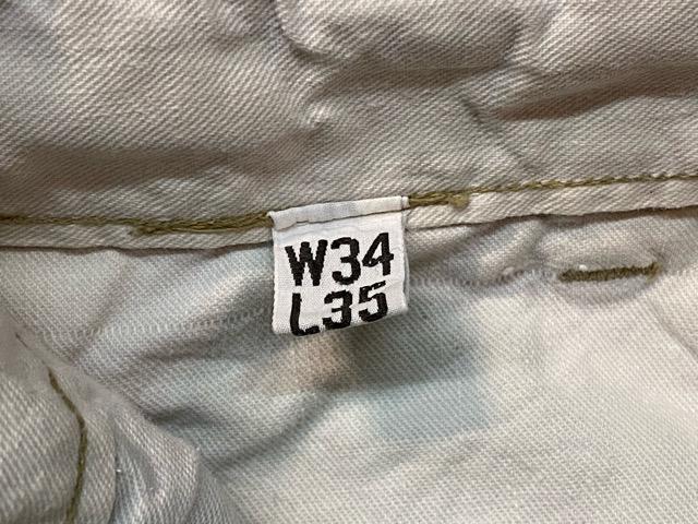 3月18日(水)マグネッツ大阪店ヴィンテージボトムス入荷!! #5 1940\'~50\'s ArmyChino M-41,43,45.52編 MetalButton & DoubleStitch!!_c0078587_22414380.jpg