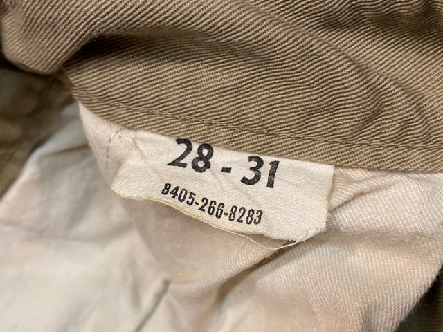 3月18日(水)マグネッツ大阪店ヴィンテージボトムス入荷!! #5 1940\'~50\'s ArmyChino M-41,43,45.52編 MetalButton & DoubleStitch!!_c0078587_2254464.jpg