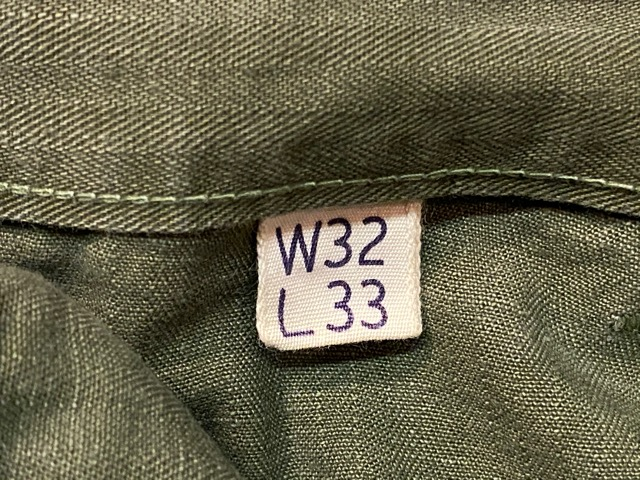 3月18日(水)マグネッツ大阪店ヴィンテージボトムス入荷!! #6 1940\' U.S.Army M-1943 HBT SideCargo編!!_c0078587_23281250.jpg