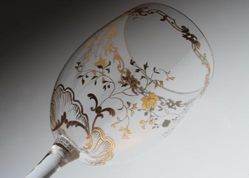 BACCARAT LOUIS XV GOLD  バカラ 金彩 ルイ・15世_c0108595_22491193.jpeg