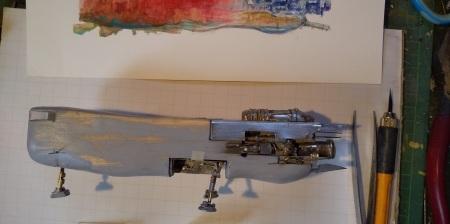 大陸間横断飛行鉄道制作2 Trans-continental Flying Locomotive_f0249498_00262767.jpg
