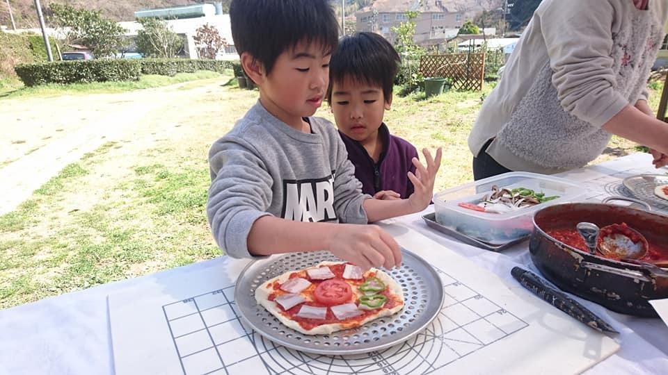 今季最後の貸し切りピザ焼き体験_b0028299_20413086.jpg