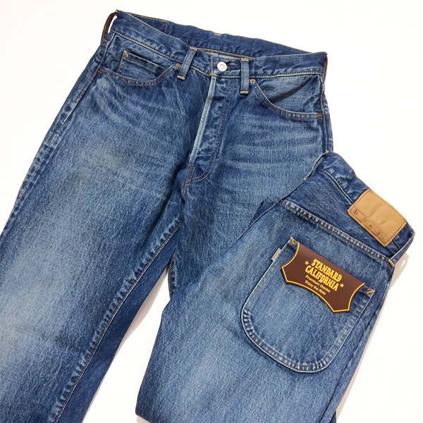 【DELIVERY】 STANDARD CALIFORNIA - 5-Pocket Denim Vintage Wash_a0076701_17053908.jpg